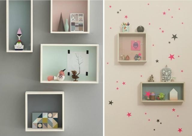 decorazioni per le pareti della cameretta delle bambine - Arredamento Shabby