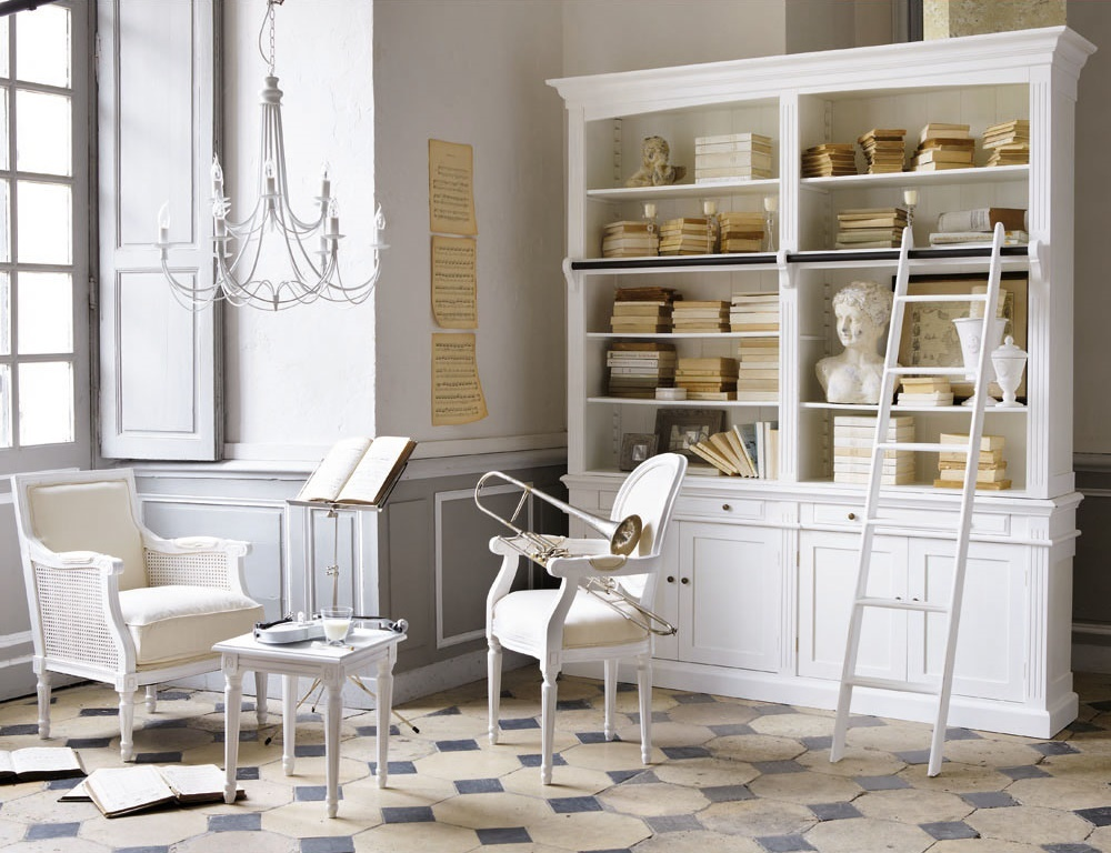 Maison du monde libreria arredamento shabby for Maison du monde mobili bagno