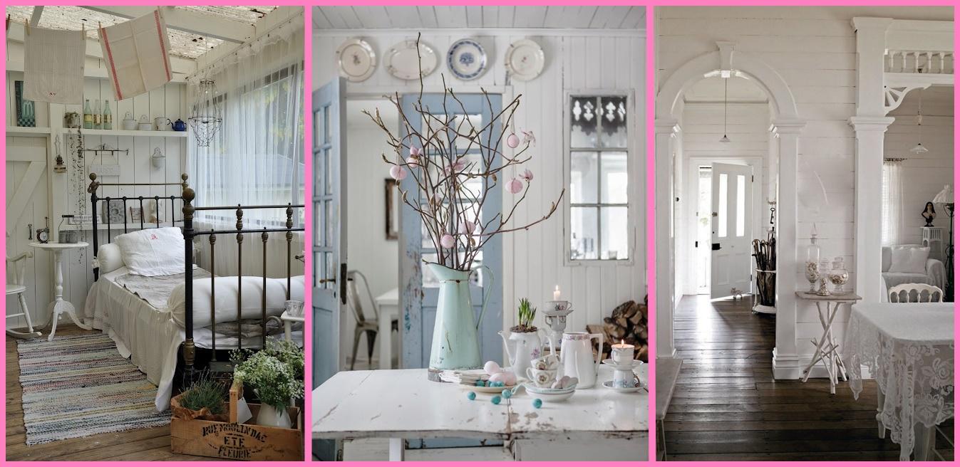 Come arredare una casa in stile shabby 10 cose che non for Case arredate stile shabby