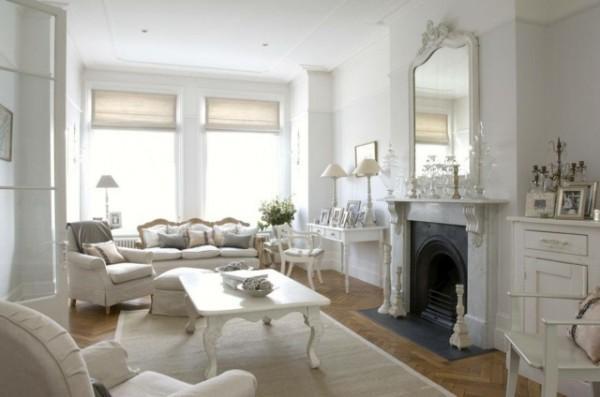 arredamento total white ~ ispirazione di design interni - Soggiorno Total White