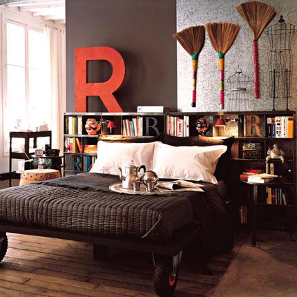 ... più importante in camera da letto: la testata in stile Shabby