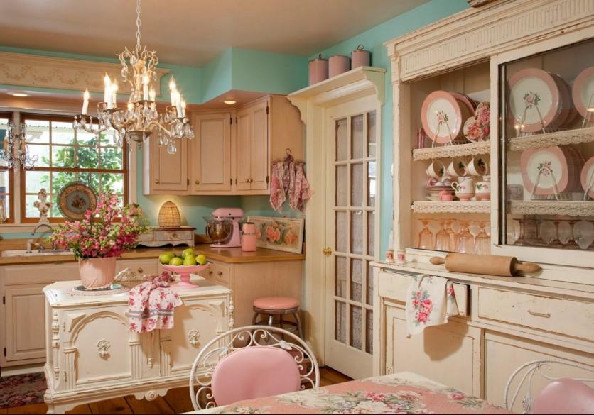Mensole Per Cucina Rustica. Cucina In Stile In Stile Country Di ...