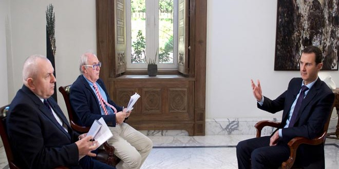 Irak et Syrie ou l'arnaque occidentale de l'EI  - Page 4 Assad