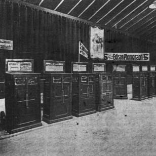 """""""Phonograph Exhibit at the American Institute Fair"""" (vol. 2, no. 10)"""