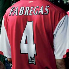 Fabregas came off the bench to inspire the Gunners.