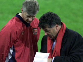 Arsene Wenger will not follow his old friend David Dein out the door