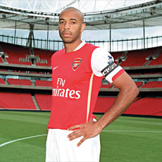 The Arsenal medical staff needs to get Thierry Henry and Co fit for next season