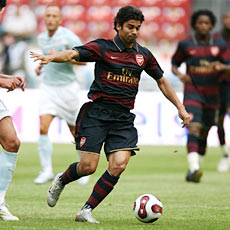 Eduardo should make his full debut for Arsenal against Blackburn