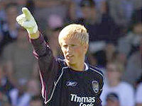 Manchester City's Kasper Schmeichel has struggled in the air