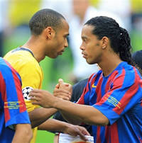 Henry has more in common with players like Ronaldinho