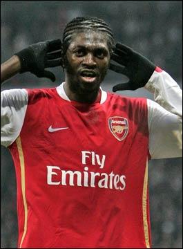 Adebayor is doing well