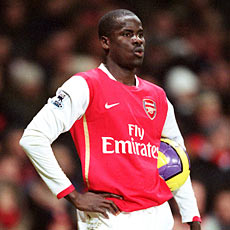 Eboue has done reasonably well as a winger