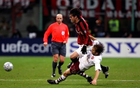 Mathieu Flamini did a tremendous job on Kaka