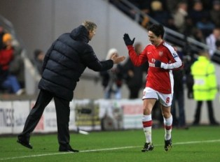 Nasri celebrates his winner