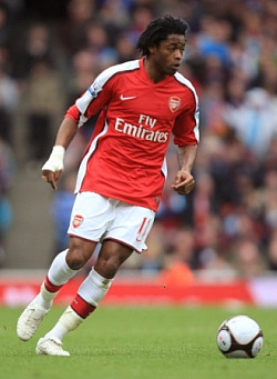 Eduardo will get the headlines, but Alex Song's contribution did not go unnoticed by this blogger