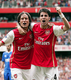The thought of Rosicky and Cesc teaming up again is a welcome one