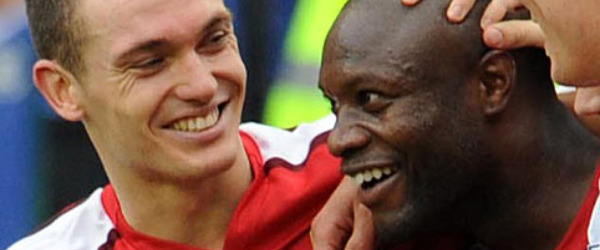 Vermaelen and Gallas have formed a decent partnership