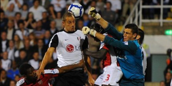 Mannone produced a superb goalkeeping performance against Fulham