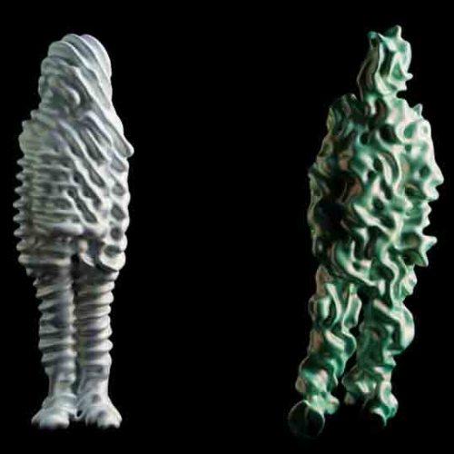 работы арт-проекта TRANS Sculptures