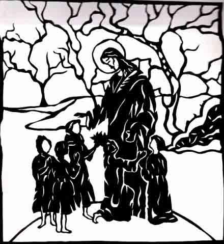 Одна из первых работ Анастасии Басюк