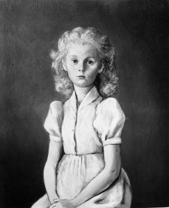 Huile sur toile, ca. 1945