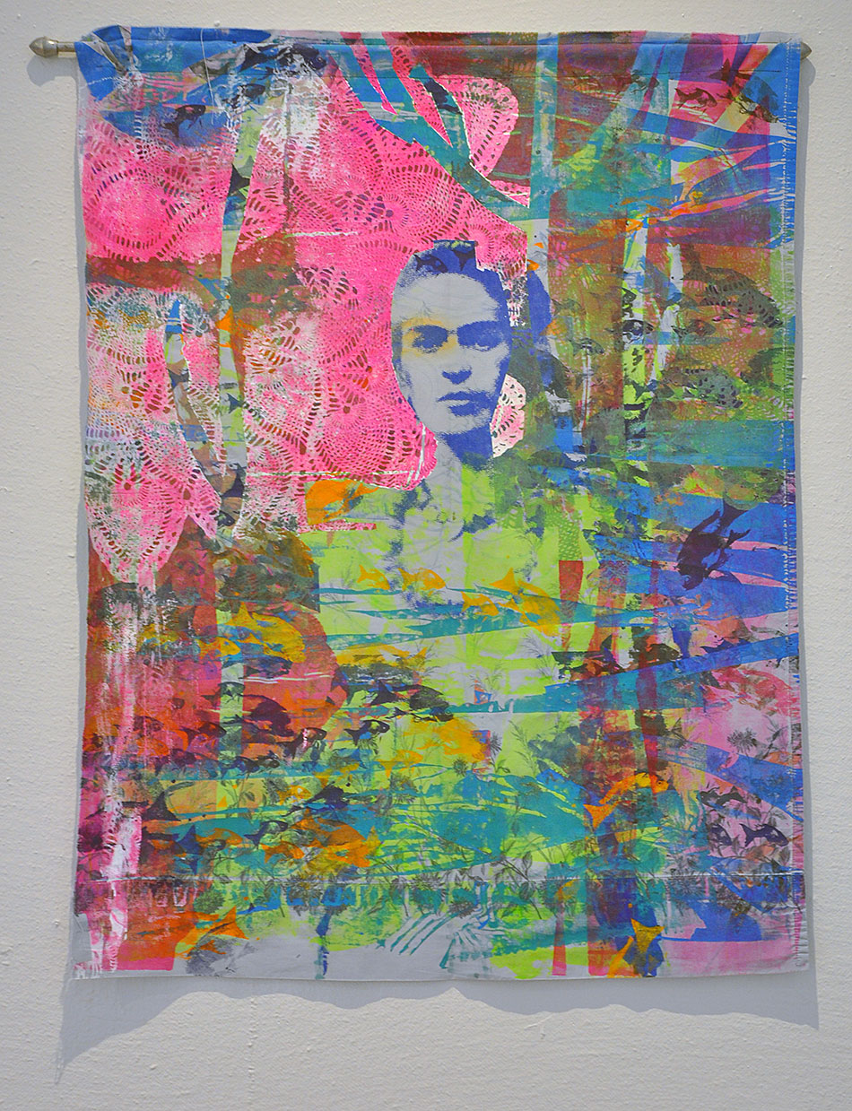 Painting: Frida / Ophelia by Woodie Anderson