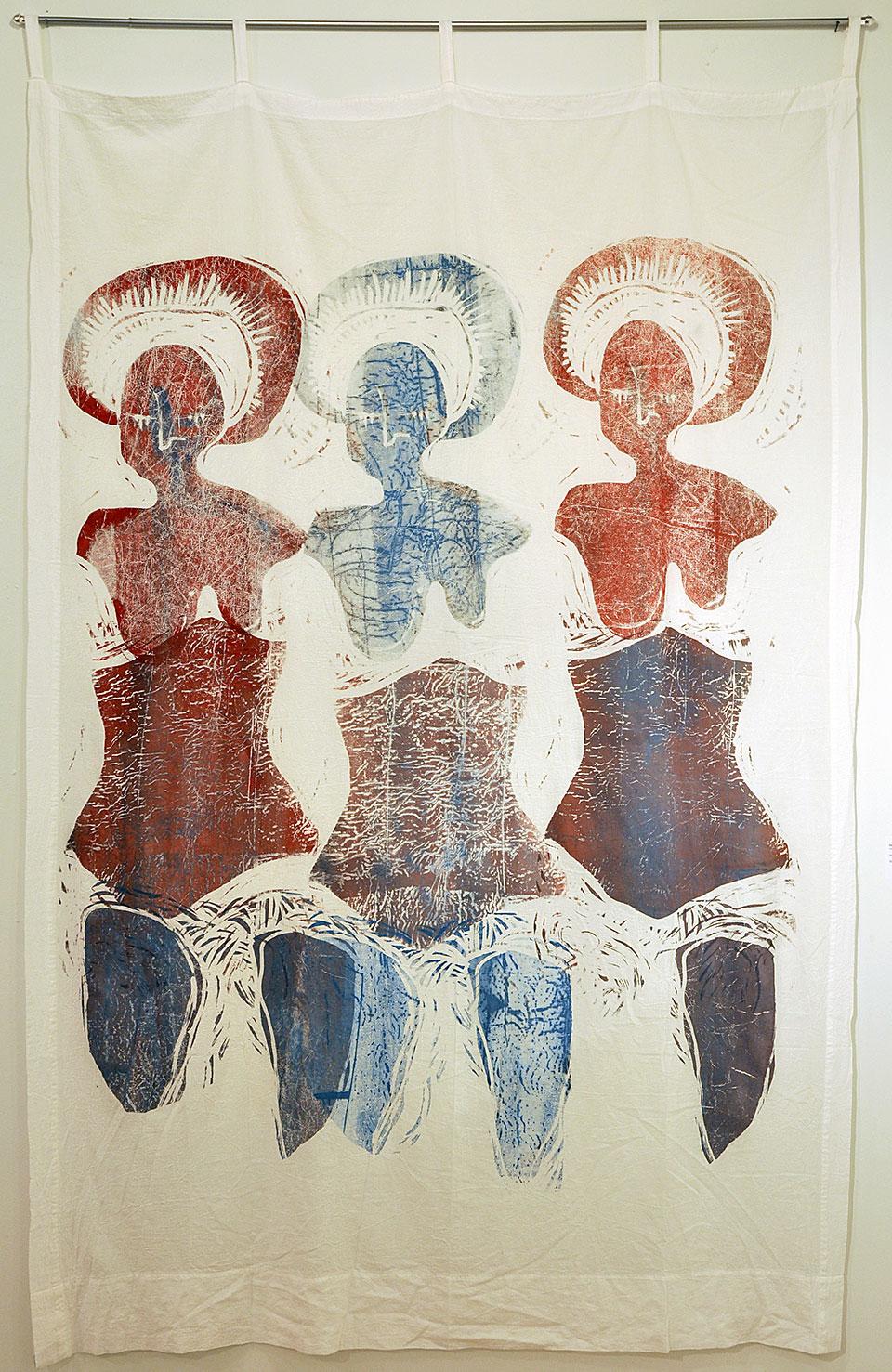 print: Three Marys Curtain