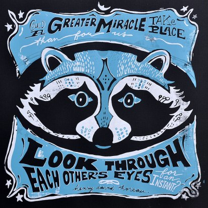 No Greater Miracle - Raccoon Mask