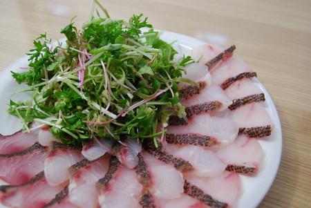 鯛の焼き切りサラダ