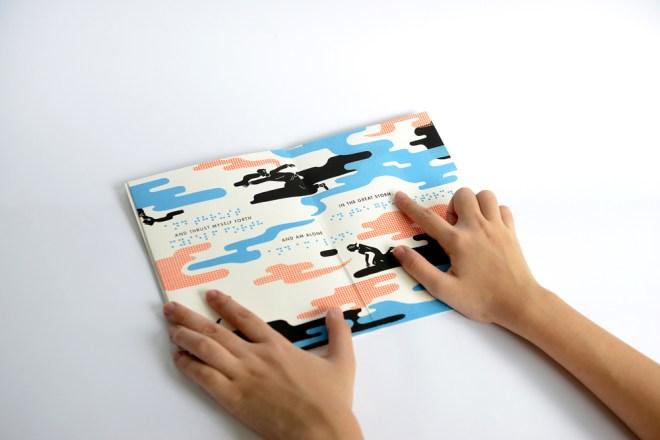 TOUCH book utilizing a puffed screen-printing technique, Image © Parinda Sakdanaraseth