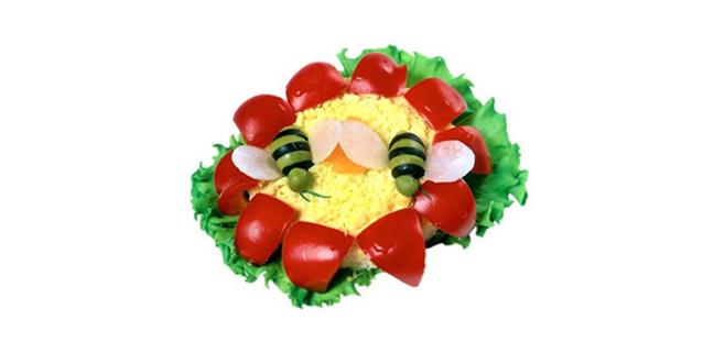 Рецепты салатов из курицы и помидорами