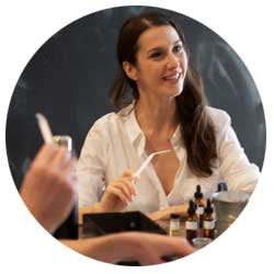 Ashley Eden Kessler teaches Accord Classes at The Institute for Art and Olfaction