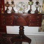Early 19th C. British Colonial Dressing Table from Jamaica, West Indies, c.1835