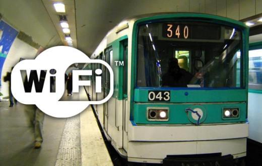 Wifi gratuit dans le métro ( RATP )