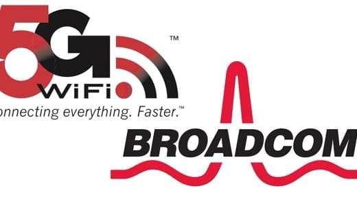 Wifi puce Broadcom 5G