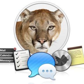Mac OS X mountain Lion test
