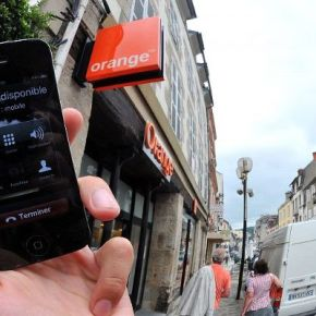 Panne nationale mobile de Orange