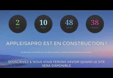 AppleisaPro.fr est en Construction ! 1