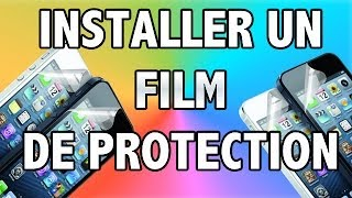 Installer film de protection