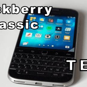 Test / Avis : Blackberry Classic 1