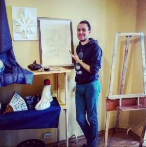 112 -2мес Застенчик Виктор, начинающий художник, IT-информатик, Дом Карт.
