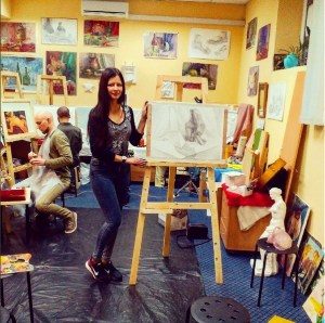 141-Алина Паламарчук начинающий художник, фотомодель, студентка, 4 мес