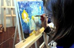 маслянная живопись на уроках рисования в ArtClass