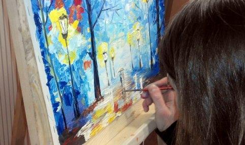 законы воздушной перспективы в живописи