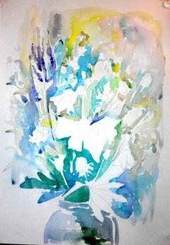 Akvarel'nyy etyud s tsvetami (4)