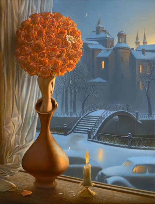 Vladimir Kush pinturas que te hacen pensar 7