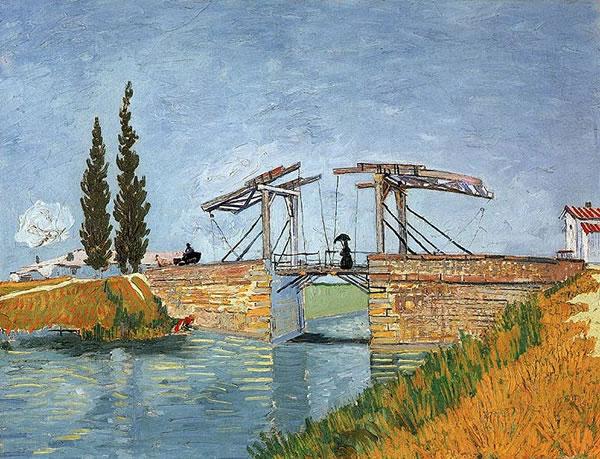 El puente de Langlois en Arles