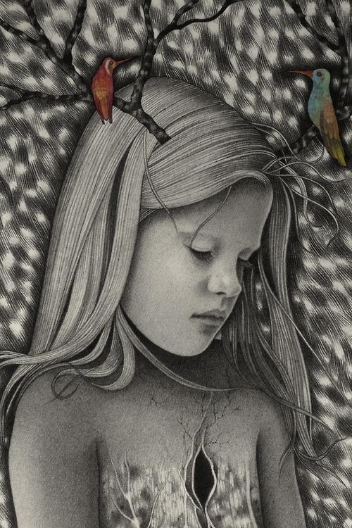 Dibujos carboncillo Alessia Iannetti 5