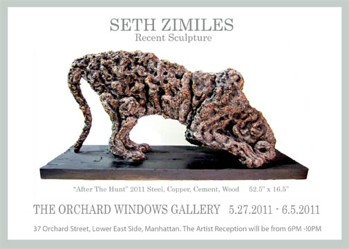 "Seth Zimiles' ""After The Hunt"" at Orchard Windows Gallery"