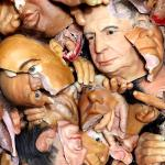 Anonymous Politicians (2009-2012) by David LaChapelle